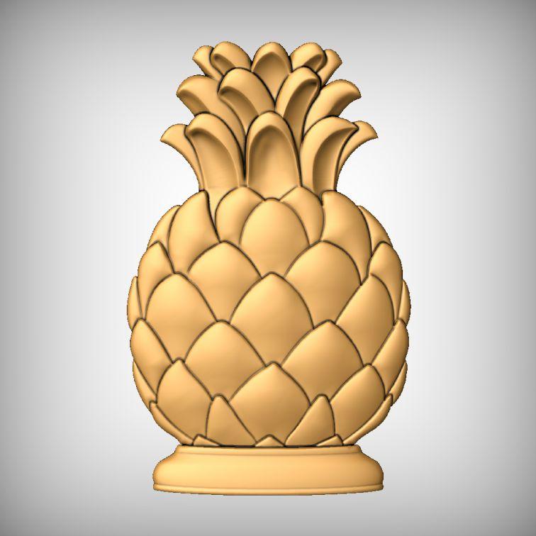 Pineapple CNC Model