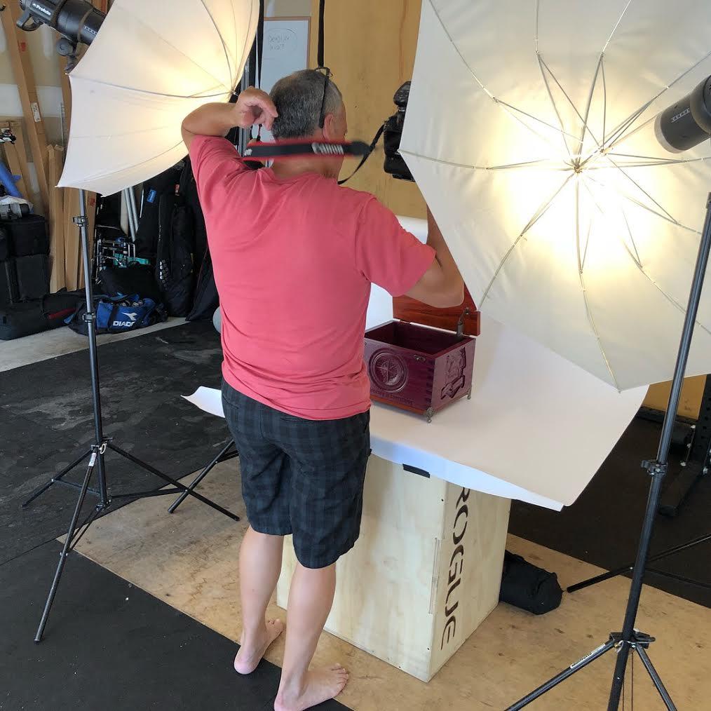 Photography Box Lighting CNC