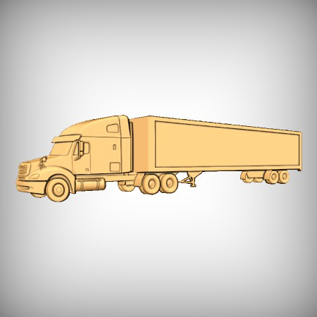 Lorry CNC Model
