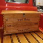 Wood Box CNC Engraving