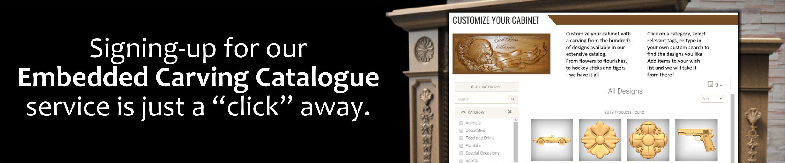 Embedded Carving Catalog