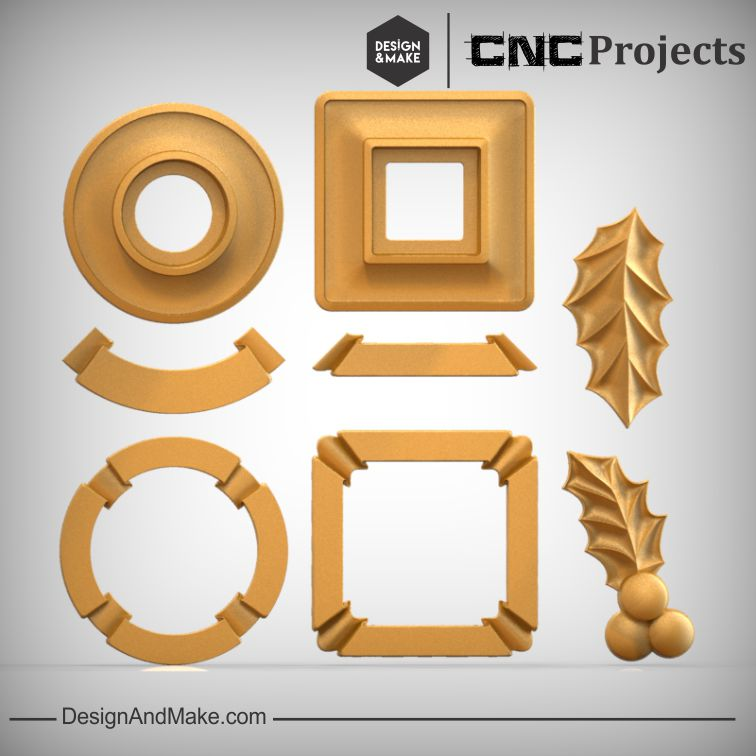 Candle Holder CNC Models