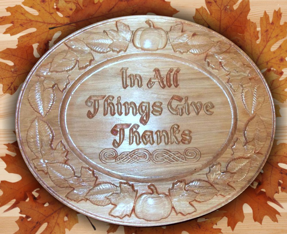 Thanksgiving CNC Models Example