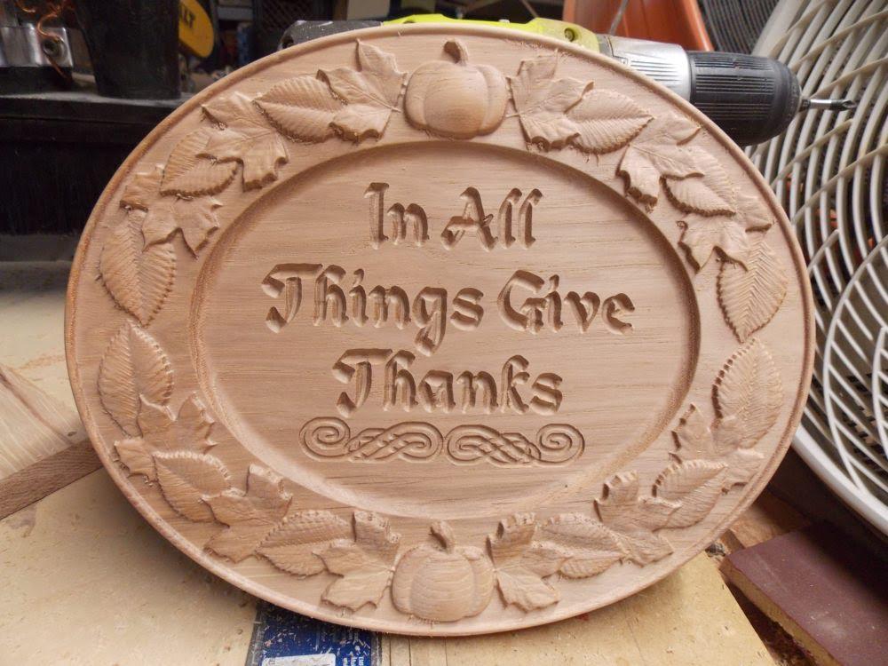 Thanksgiving CNC Models Example