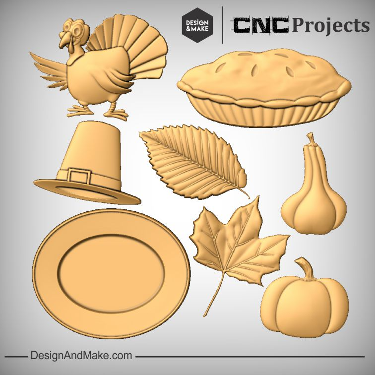 Thanksgiving CNC Models