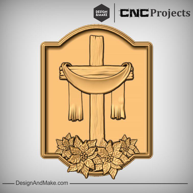 Christ Cross Ribbon CNC Project