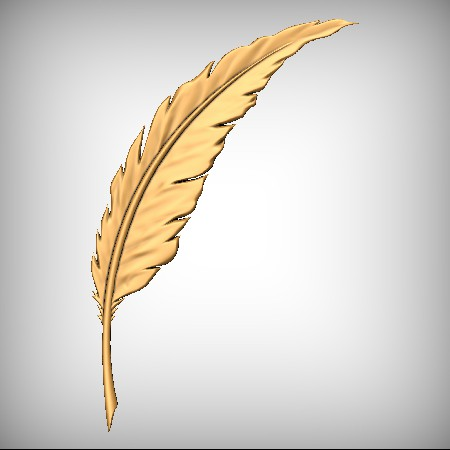 Feather CNC Model