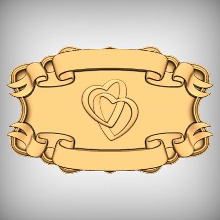 Love Hearts Plaque CNC Project