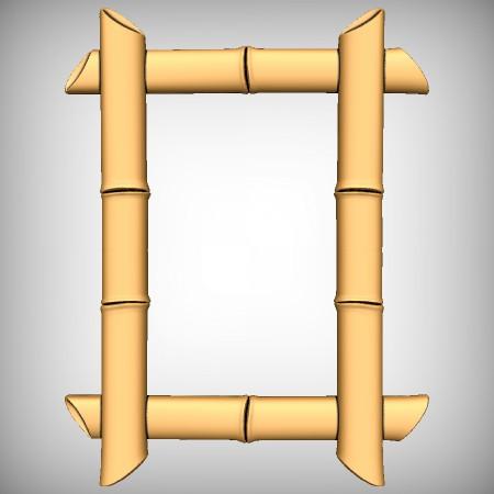 Bamboo Frame CNC Model
