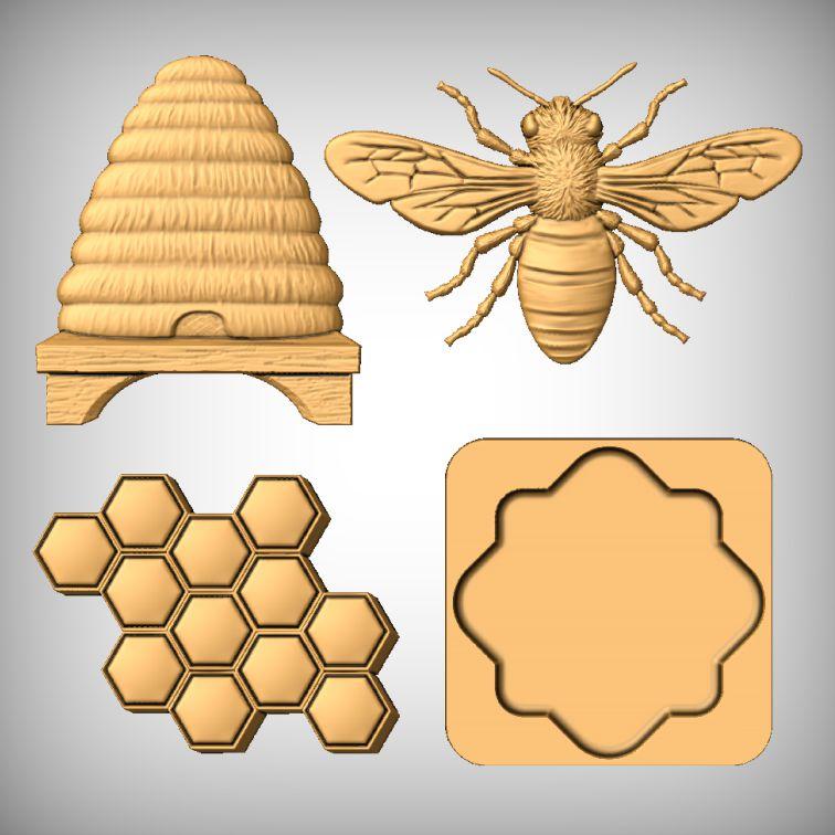 Honey Bee CNC Model