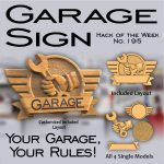 Garage Sign CNC Project