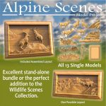 Alpine Scenes CNC models