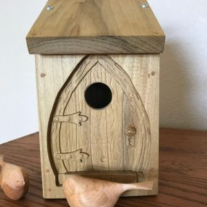 Bird house made on CNC