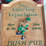 Irish Pub sign Design & Make user