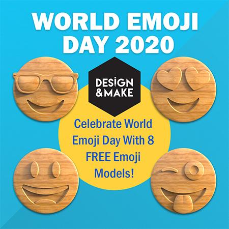 Free Emoji CNC models