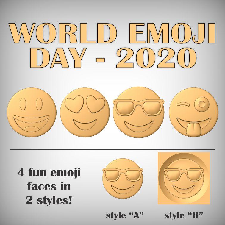 World emoji day CNC models