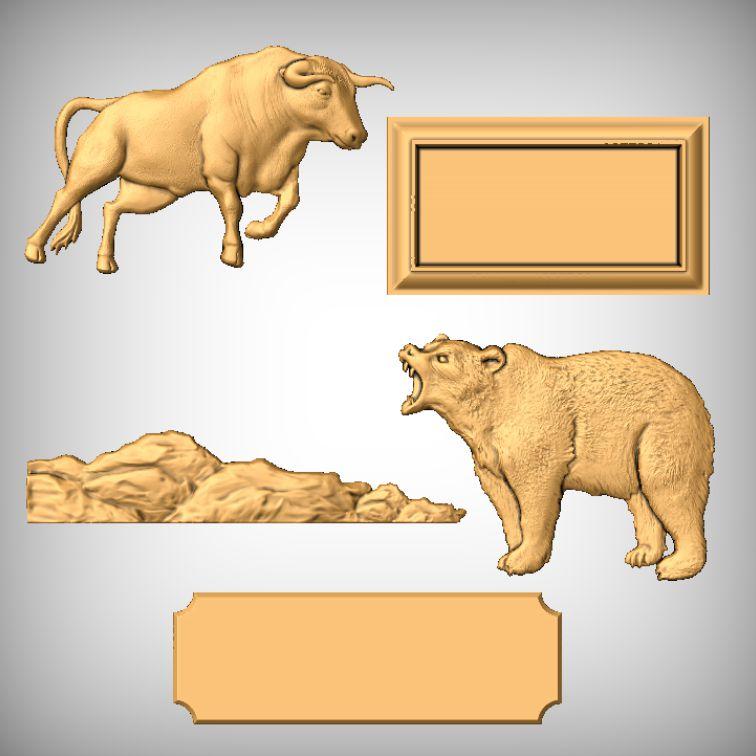 All 5 Single Models Bull vs Bear