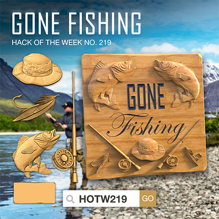Gone Fishing! HOTW219