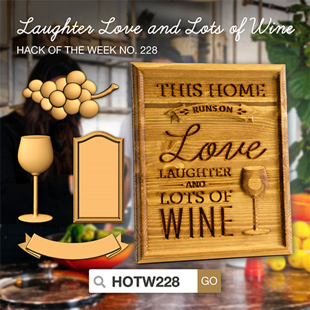 Laughter, Love, Wine - HOTW