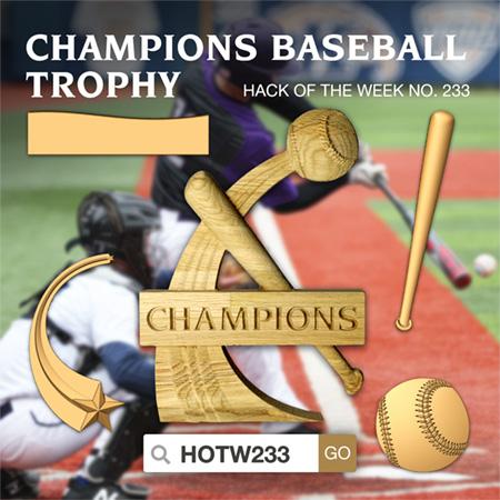 Champions Baseball Trophy