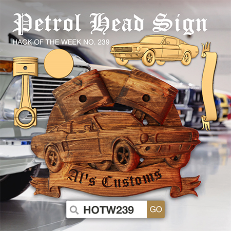 Petrol Head Sign