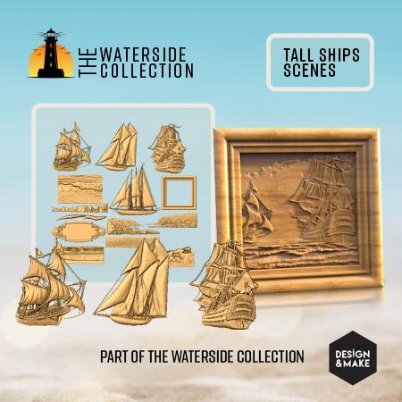 Tall Ship Scenes Model Project